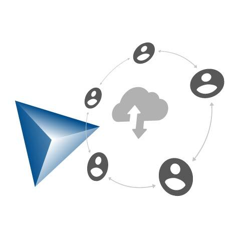 collaboration grace au cloud