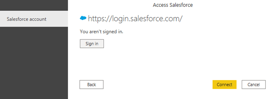 Salesforce & Power BI