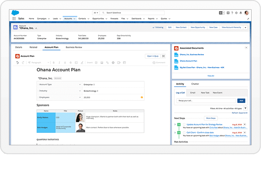 Salesforce Formation